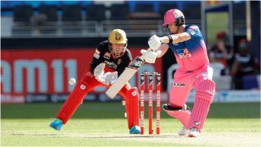 RR vs RCB, IPL 2020: स्टिव्ह स्मिथचे दमदार अर्धशतक, रॉयल्सचे आरसीबीला विजयासाठी178 धावांचे आव्हान
