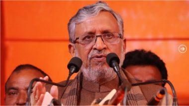 Bihar Assembly Election 2020: भाजपला धक्का, बिहारचे उपमुख्यमंत्री सुशील कुमार मोदी कोरोना व्हायरस संक्रमित
