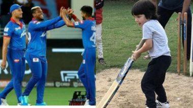 IPL मध्ये Taimur ला काही संधी आहे का? विचारत फोटो पोस्ट करणार्या Kareena Kapoor ला  Delhi Capitals चा रिप्लाय; इथे पहा दिल्ली संघाची ऑफर