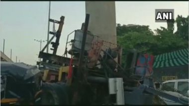 Metro Crane Accident In Mumbai: अंधेरी वेस्टर्न एक्सप्रेस हायवेवर मेट्रोचा क्रेन कोसळून भीषण अपघात; एका महिलेचा मृत्यू