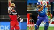 MI vs RCB,IPL 2020: मुंबई इंडियन्सने जिंकला टॉस, पहिले गोलंदाजीचा घेतला निर्णय