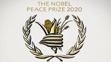 Nobel Peace Prize 2020: World Food Programme ला यंदाचा शांततेचा नोबेल पुरस्कार जाहीर