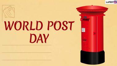 World Post Day 2020 Greetings: जागतिक टपाल दिन निमित्त नेटकर्यांच्या खास शुभेच्छा, UN सह मान्यवरांनी Corona Pandemic काळात पोस्टाने दिलेल्या सेवेबद्दल मानले आभार