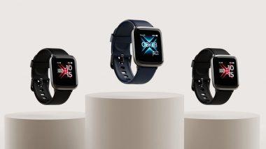 SpO2 ट्रॅकर आणि 1.3 इंचाचा HD डिस्प्ले भारतात लॉन्च सर्वाधिक स्वत Smartwatch, जाणुन घ्या किंमत