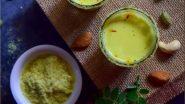 Kojagiri Purnima Milk Recipe : कोजागिरीच्या रात्री असे बनवा 'कोजागिरी स्पेशल मसाला दूध' जाणून घ्या सोपी रेसेपी