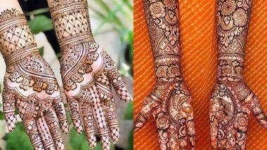 Kojagiri Purnima 2020 Mehndi Designs:कोजागरी पौर्णिमेच्या शुभ मुहूर्तावर आपल्या हातावर आणि पायांवर काढा नवीन प्रकारची हेना पॅटर्न मेहंदी आणि दिसासुंदर