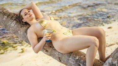 Mia Malkova Hot Photos: पॉर्न स्टार मिया मालकोवा ने बिकिनीवर दिली हॉट पोज; फोटो पाहून चाहत्यांनी दिल्या अशा प्रतिक्रिया