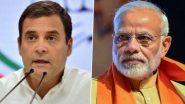 Rahul Gandhi on PM Narendra Modi: पंतप्रधान मोदी यांना काँग्रेस नेते राहुल गांधी यांचे आव्हान म्हणाले आजच्या भाषणात 'या' मुद्द्याबाबतही बोला'