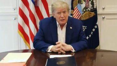 Donald Trump Health Update: 'माझी प्रकृती उत्तम, अमेरिकेला परत महान बनवण्यासाठी मला  यायचे आहे'; डोनाल्ड ट्रम्प यांची व्हिडिओद्वारे माहिती