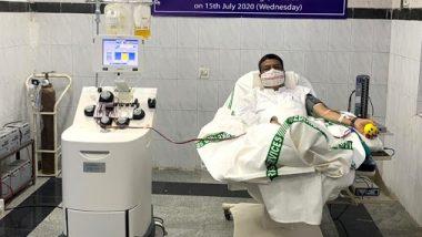 मोदी सरकारमधील 'या' मंत्र्याने केलं प्लाझ्मा दान; सोशल मीडियावर होतोय कौतुकाचा वर्षाव