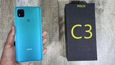 Poco C3 Smartphone: पोको सी 3 स्मार्टफोन आज होणार लाँच; 5000 बॅटरी आणि ट्रिपल रियर कॅमरा सेटअपयुक्त मोबाईल फ्लिपकार्टवर येणार खरेदी करता