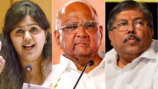 Chandrakant Patil On Pankaja Munde: भाजप नेत्या पंकजा मुंडे यांनी शरद पवार यांचे कौतूक केल्यानंतर चंद्रकांत पाटील यांनी दिली 'अशी' प्रतिक्रिया