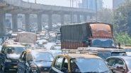 Mumbai Traffic Jam: क्रेन अपघातामुळे पश्चिम द्रुतगती महामार्गाच्या दोन्ही बाजूंनी वाहतूक कोंडी