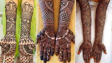 Navratri 2020 Simple Mehndi Design: नवरात्री उत्सवासाठी हातावर काढा 'या' सुरेख मेहंदी डिझाईन; पहा व्हिडिओ