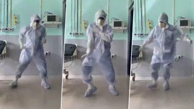 कोरोना वॉर्डातील डॉक्टरांनी धरला बॉलिवूड गाण्यावर ठेका: व्हायरल व्हिडिओ पाहून हृतिक रोशन म्हणाला, 'मलाही या डान्स स्टेप्स शिकायच्या'
