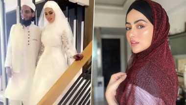 अभिनेत्री Sana Khan ने सुरतमध्ये केले Mufti Anaas शी लग्न; मानवतेची सेवा करण्यासाठी बॉलिवूडला केला होता रामराम (Watch Video)