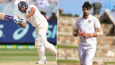 IND vs AUS 2020-21: टीम इंडियाला मोठा धक्का, रोहित आणि इशांत शर्मा पहिल्या दोन टेस्ट मॅचमधून आऊट, BCCI कडूनअधिकृत घोषणेची प्रतीक्षा