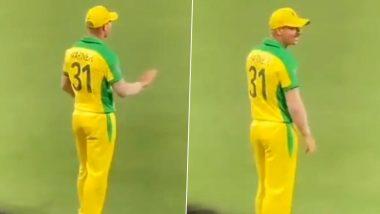 IND vs AUS 1st ODI: 'Butta Bomma' गाण्यावर मैदानावरच थिरकाला डेविड वॉर्नर, पाहून उत्साहित चाहत्यांनी दिली अशी प्रतिक्रिया, पहा मजेदार Video