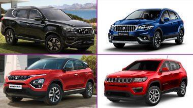 Diwali 2020 Discounts on Cars: दिवाळीनिमित्त लोकप्रिय कार्सवर मिळत आहे 3 लाखांपर्यंत सूट; Mahindra Alturas G4, Jeep Compass, Tata Harrier, Honda Civic, Kia Carnival, Maruti S-Cross गाड्या सवलतीच्या दरात घेण्याची संधी