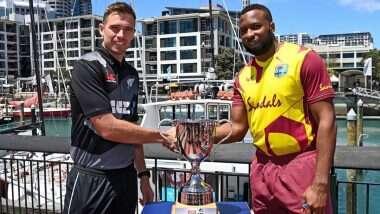 NZ vs WI 1st T20I Live Streaming: न्यूझीलंड आणि वेस्ट इंडिज यांच्यातील पहिला टी-20 सामना भारतात कधी आणि कुठे पाहाल? जाणून घ्या पूर्ण डिटेल्स