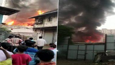 मुंबई: मालाड च्या त्रिवेणी नगर परिसरात भीषण आग, अग्निशमन दलाच्या सात गाड्या घटनास्थळी दाखल