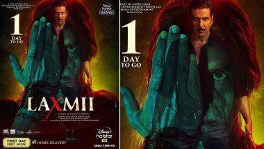 Laxmii चित्रपट प्रदर्शित व्हायला केवळ 1 दिवस बाकी, अभिनेता अक्षय कुमार ने सोशल मिडियावर केले हटके पोस्ट