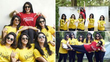 Sai Lokur Bachelorette Party Photoshoot: सई लोकुर हिचे बॅचलर पार्टीचे फोटो सोशल मिडियावर व्हायरल, पाहा मैत्रिणींसोबत सईने केलेली धमालमस्ती, See Pics