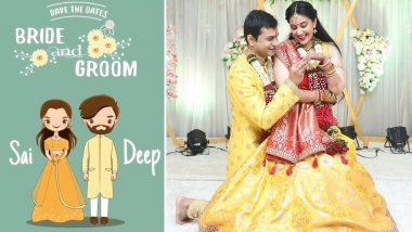 Sai Lokur Wedding Card: ठरलं! सई लोकुर आणि तीर्थदिप रॉय यांच्या लग्नपत्रिका आली समोर, #SAIDEEPROY म्हणत शेअर केला हा सुंदर Video