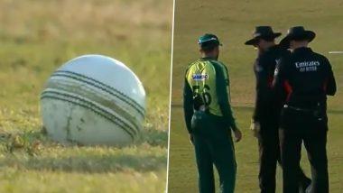 Wahab Riaz Uses Sliva on Ball: ZIM विरुद्ध वहाब रियाझने कोरोनाचा मोडला नियम, चेंडूवर लाळ लावल्यावर मैदानावर उडाला गोंधळ
