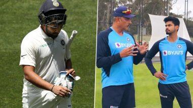 IND vs AUS 2020-21: ऑस्ट्रेलियाविरुद्ध टेस्ट मालिकेत रोहित-इशांतच्या खेळण्यावर संभ्रमाचं वातावरण; रवि शास्त्री यांच्या ट्विटनंतर श्रेयस अय्यरच्या नावाला उधाण