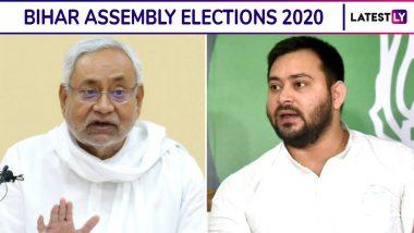 Exit Poll Results of Bihar Assembly Elections 2020: बिहार निवडणूक निकालामध्ये Times Now-C-Voter च्या अंदाजानुसार महागठबंधन च्या पारड्यात 120 तर NDA कडे 116 जागा