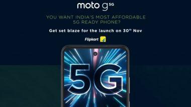 भारतातील सर्वात स्वस्त 5G स्मार्टफोन Motorola Moto G या महिन्यात होणार लाँच, 'या' दिवशी Flipkart होणार वर इव्हेंट