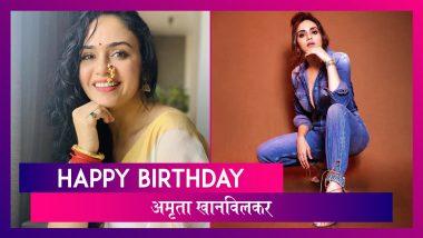 Amruta Khanvilkar Birthday Special: अमृताबद्दल काही खास गोष्टी आणि पाहूयात तिचा ग्लॅमरस अंदाज