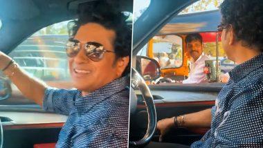 Sachin Tendulkar हरवला कांदिवलीमध्ये, रिक्षाचालकाची मदत घेऊन योग्य रस्त्यावर लागला, व्हिडिओ पाहून तुम्हीही व्हाल खुश