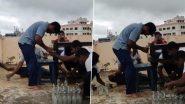 Andhra Pradesh च्या प्रभाकर रेड्डी ने एका मिनिटांत डोक्याने उघडली 68 बाटल्यांची झाकणं; अनोख्या पराक्रमाची Guinness Book मध्ये नोंद (Watch Video)
