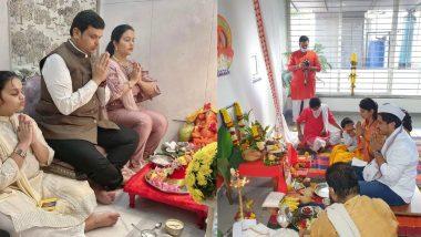 Diwali Laxmi Pujan 2020: दिवाळीच्या निमित्ताने राजेश टोपे, देवेंद्र फडणवीस, रोहित पवार अशा नेत्यांनी सपत्निक केली लक्ष्मीपूजा (See Photo)