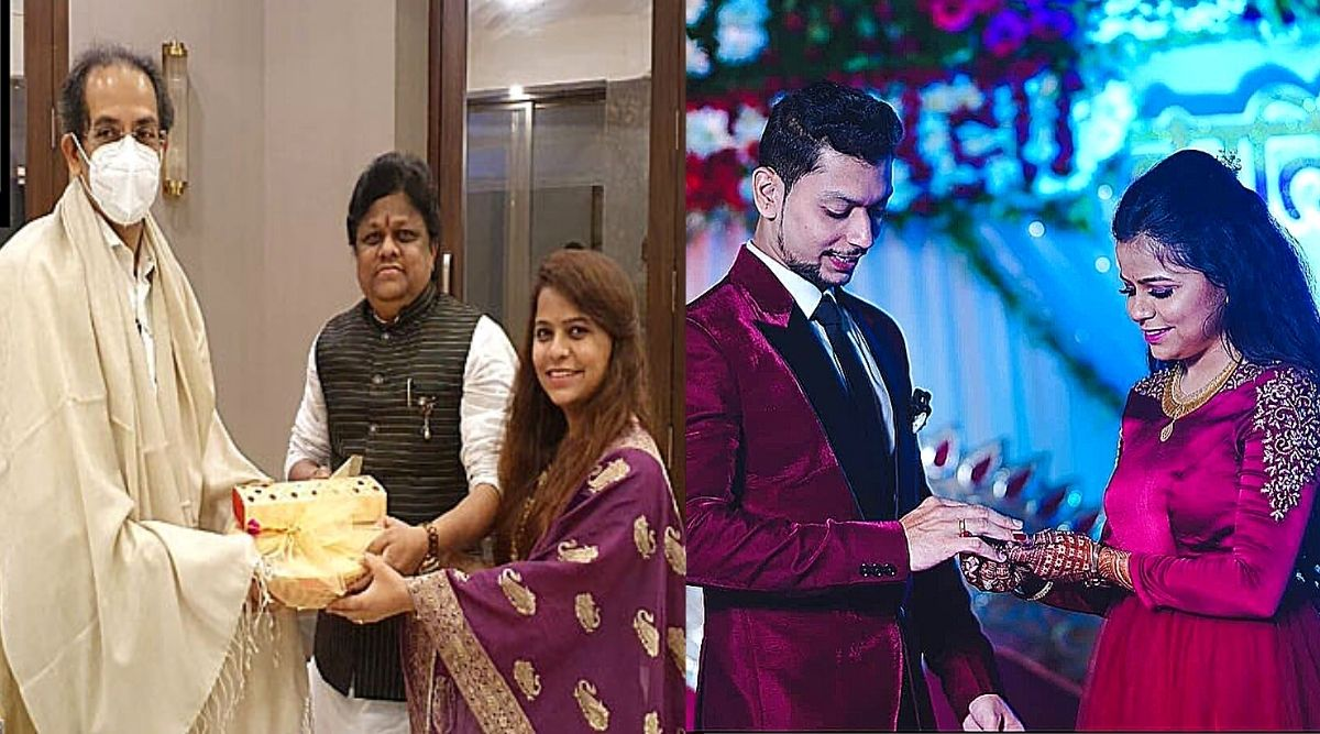 Kartiki Gaikwad's Invitation to CM Uddhav Thackeray: मुख्यमंत्री उद्धव ठाकरेंना गायिका कार्तिकी गायकवाडने दिले विवाहासाठी आग्रहाचे निमंत्रण; वर्षा बंगल्यावर झाली भेट