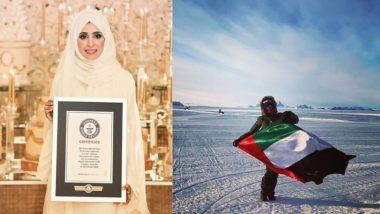 UAE च्या Dr Khawla AlRomaithi यांची कमाल; 87 तासांमध्ये केला 7 खंड व 208 देशांचा प्रवास, Guinness World Records मध्ये नोंद