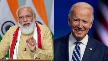 PM Modi and Joe Biden Talk: पंतप्रधान नरेंद्र मोदी आणि अमेरिकेचे नवनिर्वाचित राष्ट्राध्यक्ष जो बायडन यांच्यात फोनवरुन संभाषण; 'या' महत्त्वाच्या मुद्द्यांवर चर्चा
