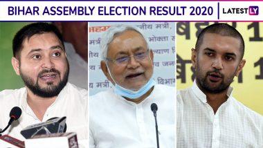 Bihar Assembly Election Result 2020: बिहार विधानसभा निवडणूक निकाल, आज सकाळी 8 वाजलेपासून मतमोजणीस सुरुवात, नीतीश कुमार, तेजस्वी यादव यांच्या कामगिरीबाबत उत्सुकता