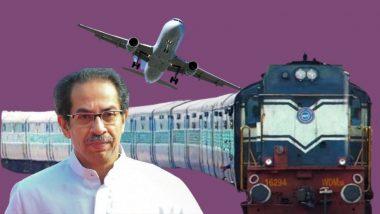 Coronavirus: मुंबई-दिल्ली विमान, रेल्वे सेवा पुन्हा एकदा बंद होण्याची शक्यता, प्रस्ताव विचाराधीन असल्याची चर्चा