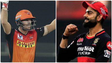 SRH vs RCB IPL 2021 Match 6: डेविड वॉर्नरने जिंकला टॉस, हैदराबादचा गोलंदाजीचा निर्णय; Devdutt Padikkal याचा आरसीबी प्लेइंग XI मध्ये समावेश, पहा कोणाला मिळाला डच्चू