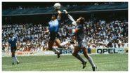 Diego Maradona Dies: 1986 वर्ल्ड कप फायनलमधील मॅराडोना यांचा 'तो' गोल 'Hand of God' म्हणून प्रसिद्ध, जाणून घ्या संपूर्ण कहाणी