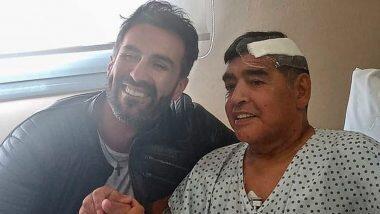 Diego Maradona यांच्या निधनानंतर त्यांच्या डॉक्टरांचे घर आणि क्लिनिकवर पोलिसांचा छापा; वडिलांच्या उपचारामध्ये निष्काळजीपणा दाखवल्याचा मुलीचा आरोप