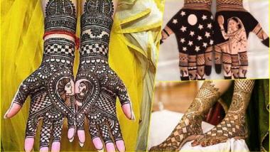 Karwa Chauth 2020 Mehndi Design: करवाचौथ लाआपल्या हाता-पायांवर काढा या सुंदर आणि आकर्षक मेहंदी डिजाइन