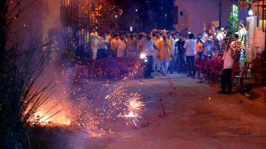 Delhi: राजधानी दिल्लीमध्ये 1 जानेवारी 2022 पर्यंत फटाके विक्री आणि फोडण्यावर पूर्ण बंदी घालण्याचे आदेश