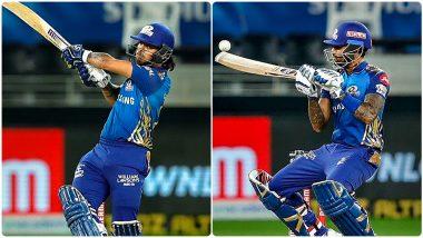IPL 2020 Most Sixes and Fours: मुंबई इंडियन्सचे ईशान किशन-सूर्यकुमार यादव षटकार-चौकारांचे बादशाह, 'हे' दोन फलंदाज देत आहे 'SKY'ला टक्कर