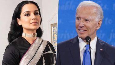 Kangana Ranaut Trolls Joe Biden: कंगना रनौत ने अमेरिकेचे नवनिर्वाचित राष्ट्रपती जो बायडेन यांना केले ट्रोल, म्हणाली 1 वर्ष सुद्धा टिकणार नाही