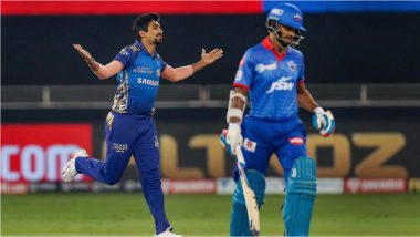 IPL 2020 Qualifier 1: मुंबईच्या गोलंदाजांपुढे दिल्लीची घसरगुंडी, MI ने कॅपिटल्सवर 57 धावांनी मोठा विजय मिळवतसलग दुसऱ्यांदाबुक केलं फायनलचं तिकीट