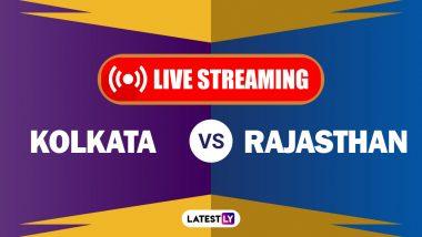 KKR vs RR, IPL 2020 Live Streaming: कोलकाता नाईट रायडर्स आणि राजस्थान रॉयल्स यांच्यातील आयपीएल लाईव्ह सामना आणि स्कोर पाहा Hotstar आणि Star Network वर